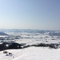 魚沼八色原の冬景色