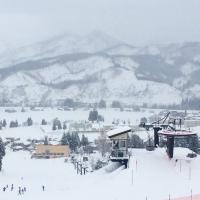 街の小さなスキー場