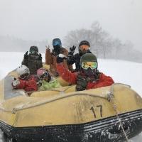 雪上ジェットコースター!